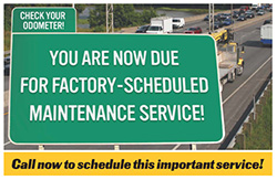 factory scheduled preventative maintenance service